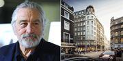 Skådespelaren Robert De Niro har beviljats bygglov för ett boutiquehotell med 83 sovrum i Covent Garden i centrala London. Nu är bygget igång. Getty