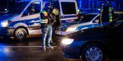 Polisinsatsen efter dådet, säkerheten höjs på många platser i Frankrike. CHRISTOPH SCHMIDT / dpa