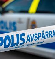 Polisavspärrning. Illustrationsbild.  Johan Nilsson/TT / TT NYHETSBYRÅN
