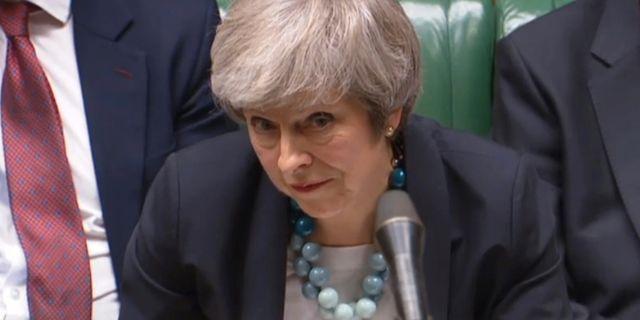 Theresa May PARBUL / TT NYHETSBYRÅN/ NTB Scanpix