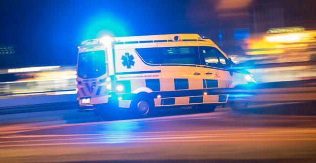 Illustrationsbild, ambulans.  Johan Nilsson/TT / TT NYHETSBYRÅN