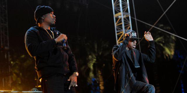 Jay-Z och Nas på Coachella Chris Pizzello / TT NYHETSBYRÅN