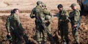 Israeliska soldater. Ariel Schalit / TT NYHETSBYRÅN/ NTB Scanpix