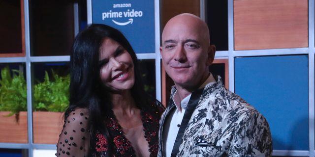 Amazons vd Jeff Bezos är världens rikaste person. Rafiq Maqbool / TT NYHETSBYRÅN