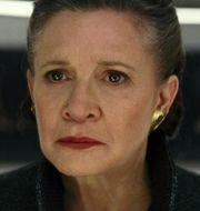 Carrie Fisher i senaste Star wars-filmen. TT / NTB Scanpix