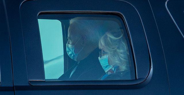 Joe och Jill Biden. Jose F. Moreno / TT NYHETSBYRÅN