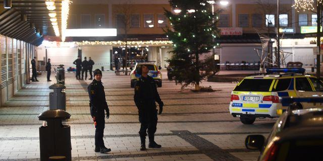 Polisinsats i Rinkeby 2018. Fredrik Sandberg/TT / TT NYHETSBYRÅN