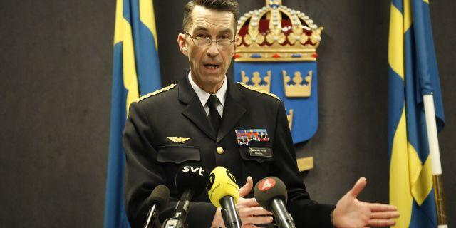 Micael Bydén. Christine Olsson/TT / TT NYHETSBYRÅN