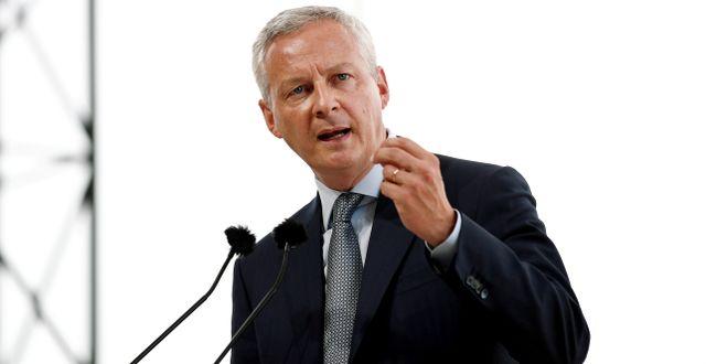 Frankrikes finansminister Bruno Le Maire. Benoit Tessier / TT NYHETSBYRÅN