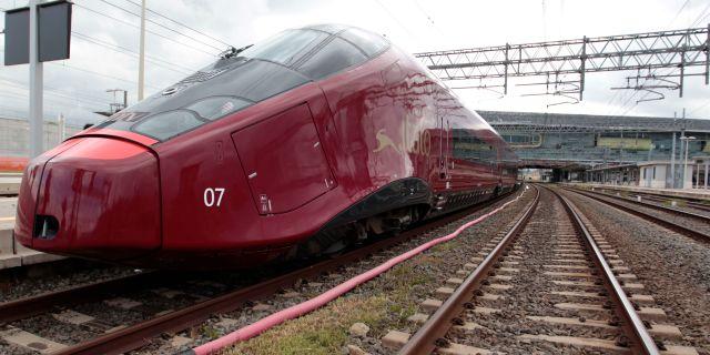 Höghastighetståg från Alstom. Arkivbild. Gregorio Borgia / TT NYHETSBYRÅN