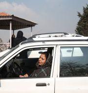 Många iranier tankade upp sina fordon efter beslutet om ransoneringen. WANA NEWS AGENCY / TT NYHETSBYRÅN