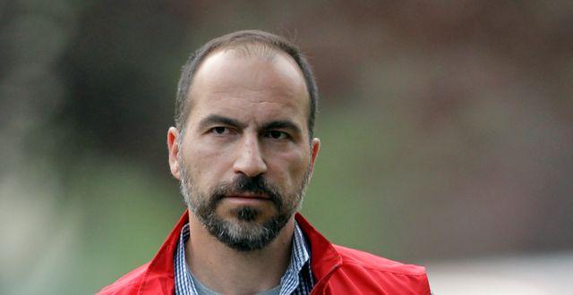 Dara Khosrowshahi, tillträdande vd för Uber.  Paul Sakuma / TT NYHETSBYRÅN
