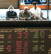 Handlare i Kuwait på söndagen YASSER AL-ZAYYAT / TT NYHETSBYRÅN