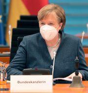 Förbundskansler Angela Merkel. Michael Sohn / TT NYHETSBYRÅN