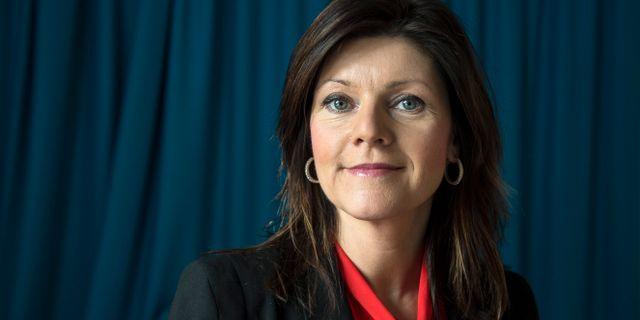 Eva Nordmark. ANDERS WIKLUND / TT / TT NYHETSBYRÅN