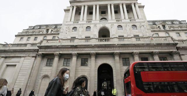 Bank of England, London. Matt Dunham/TT