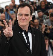 Quentin Tarantino under filmfestivalen i Cannes 2019. Vianney Le Caer / TT NYHETSBYRÅN