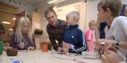 Utbildningsminister Gustav Fridolin besöker Bollstanäs skola i Upplands Väsby i augusti 2017. Anders Wiklund/TT / TT NYHETSBYRÅN