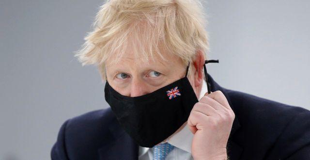 Boris Johnson.  Phil Noble / TT NYHETSBYRÅN