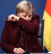 Angela Merkel. Kenzo Tribouillard / TT NYHETSBYRÅN