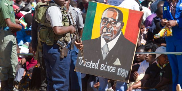Problem dela makten i zimbabwe