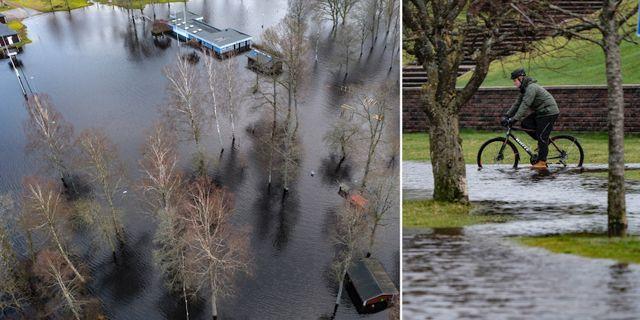 Bilder från Halland under söndagen. TT
