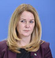 Jennie Nilsson (S) . Jessica Gow/TT / TT NYHETSBYRÅN