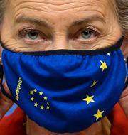 EU-kommissionens ordförande Ursula von der Leyen, arkivbild. Johanna Geron / TT NYHETSBYRÅN