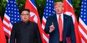 Kim Jong-Un och Donald Trump. Susan Walsh / TT NYHETSBYRÅN/ NTB Scanpix
