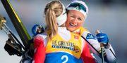 Therese Johaug och Frida Karlsson efter loppet senast. JOEL MARKLUND / BILDBYRÅN