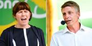 Åsa Romson och Per Bolund  TT