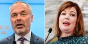 Jan Björklund och Anna Starbrink TT