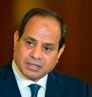 President al-Sisi. KHALED DESOUKI / AFP