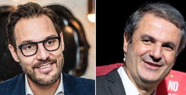 Georgi Danev och Ibrahim Baylan  Lars Pehrson/SvD/TT, Johan Nilsson/TT
