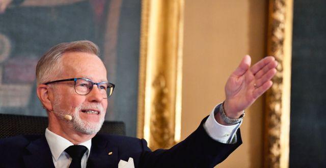 Göran K Hansson. Naina Helén Jåma/TT / TT NYHETSBYRÅN
