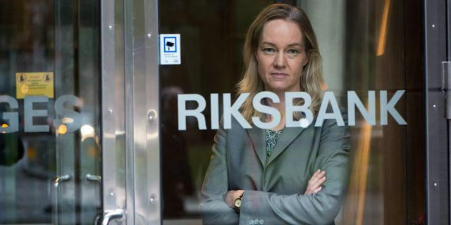 Vice riksbankschef Cecilia Skingsley. Fredrik Sandberg/TT / TT NYHETSBYRÅN