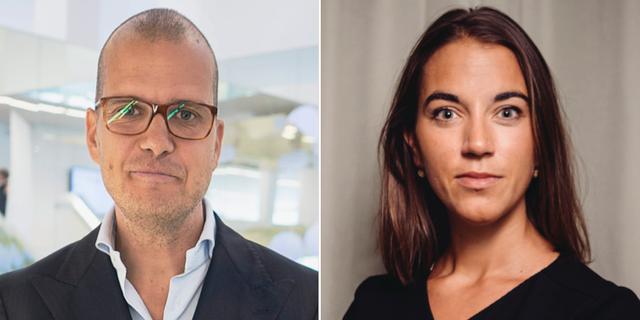 Joakim Bornold och Johanna Kull.  TT
