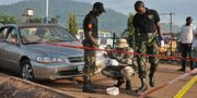 Utredningen av bombdåden 2015. Gbenga Olamikan / TT NYHETSBYRÅN/ NTB Scanpix