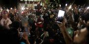 Bild från förra helgens protester i Kairo Nariman El-Mofty / TT NYHETSBYRÅN