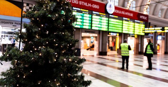 T-centralen i Stockholm. Amir Nabizadeh/TT / TT NYHETSBYRÅN