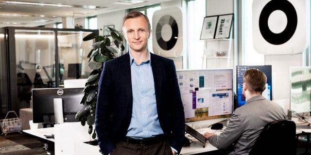 Anders Nordberg, senior ekonom. Magnus Sandberg