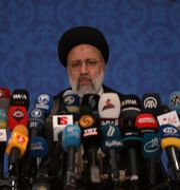 Irans nyvalde president Ebrahim Raisi. Vahid Salemi / TT NYHETSBYRÅN