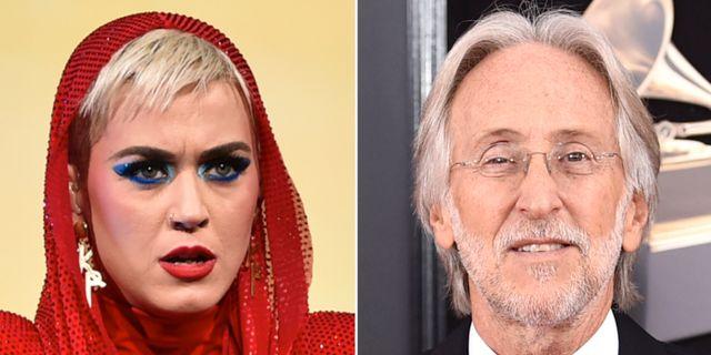Katy Perry reagerade på Neil Portnows uttalande om kvinnor. TT
