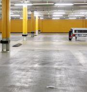 Illustrationsbild: Parkeringsgaraget i Mall of Scandinavia i Solna. P-platsen på bilden har ingenting med texten att göra.  Emma-Sofia Olsson/SvD/TT / TT NYHETSBYRÅN