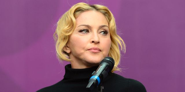 Madonna arbetar hemligt i sverige