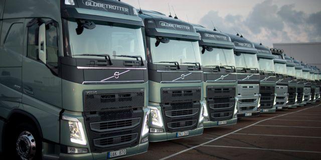 Illustrationsbild: Volvolastbilar BJÖRN LARSSON ROSVALL / TT / TT NYHETSBYRÅN
