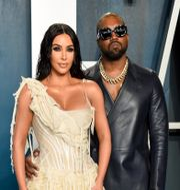 Kim Kardashian West och Kanye West, arkivbild. Evan Agostini / TT NYHETSBYRÅN