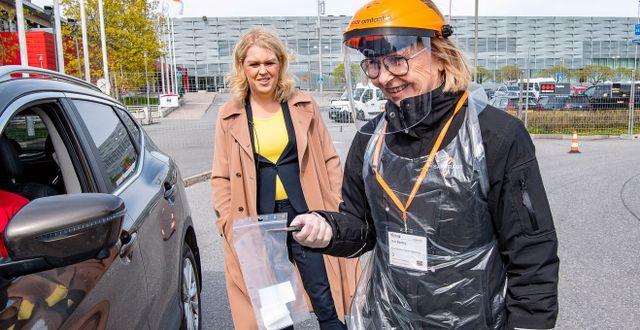 Lena Hallengren. TT