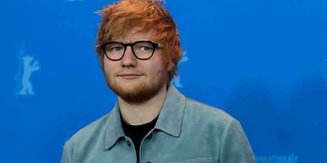 Ed Sheeran Markus Schreiber / TT NYHETSBYRÅN