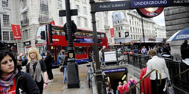 London. Foto:  JESSICA GOW/TT